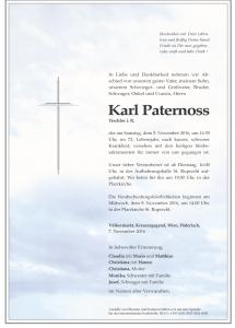 paternoss-karl