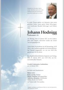 Hodnigg Johann