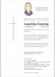 Kopeinig Leopoldine