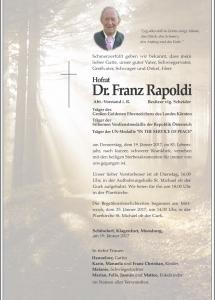 Rapoldi Franz