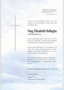 Hollegha Elisabeth