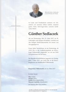 Sedlaczek Günther