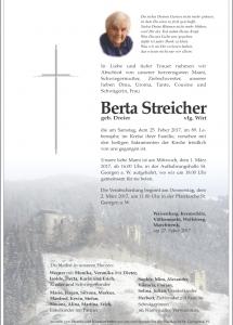 Streicher Berta