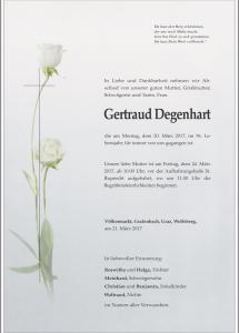 Degenhart Gertraud