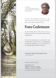 Gedermann Franz