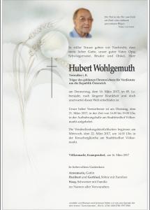 Wohlgemuth Hubert