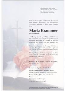 Krammer Maria