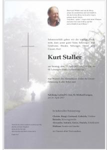 Staller Kurt