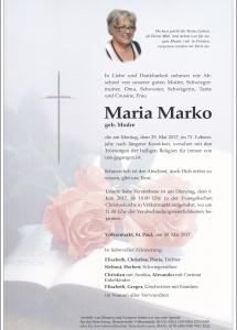 Marko Maria