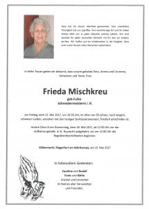 Mischkreu Frieda