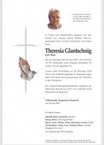 glantschnig theresia