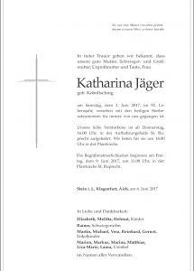 Jäger Katharina