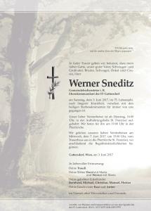 Sneditz Werner