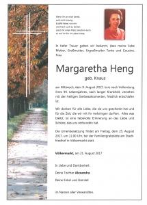 Heng Margaretha