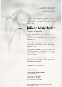Maierhofer Juliane