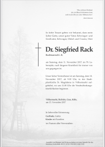Rack Siegfried