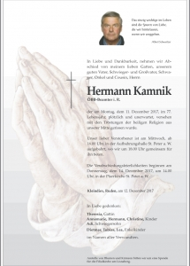 Kamnik Hermann