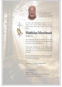 Meschnark Matthäus