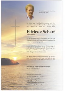 Scharf Elfriede