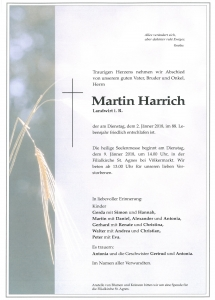 Harrich Martin