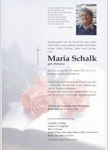Schalk Maria