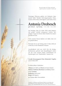Drobesch Antionia