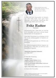 Rutter Fritz