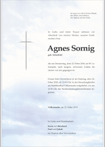 Sornig Agnes