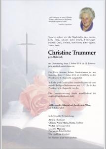 Trummer Christinie