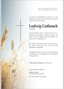 Gußmack Ludwig