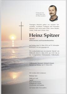 Spitzer Heinz