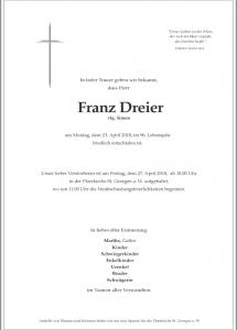 Dreier Franz
