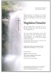 Friesacher Magdalena