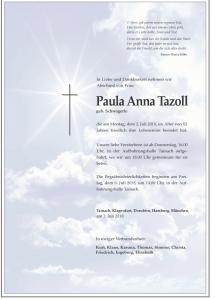 Tazoll Paula Anna