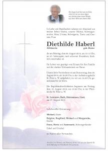 Haberl Diethilde