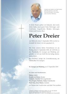 Dreier Peter