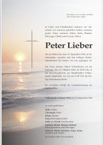 Lieber Peter
