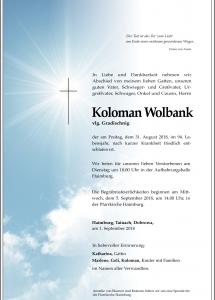 Wolbank Koloman