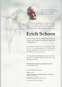 Schorn Erich