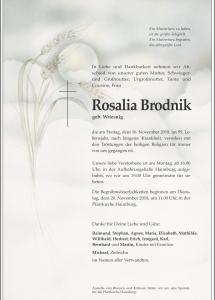 Brodnik Rosalia