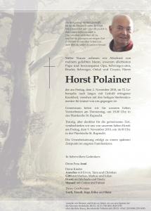 Polainer Horst