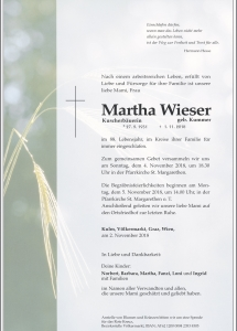 Wieser Martha