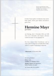 Mayr Hermine