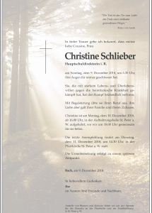 Schlieber Christine
