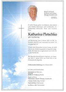 Pletschko Katharina