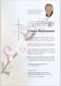 Bierbaumer Ursula