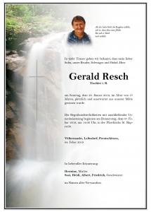 Resch Gerald