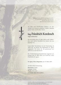 Kordesch Friedrich