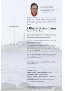 Krießmann Othmar