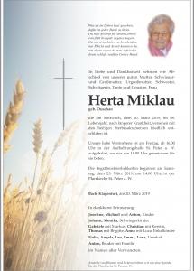 Miklau Herta